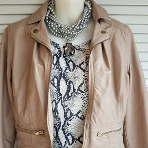 CHARLOTTE RUSSE Faux Leather Jacket